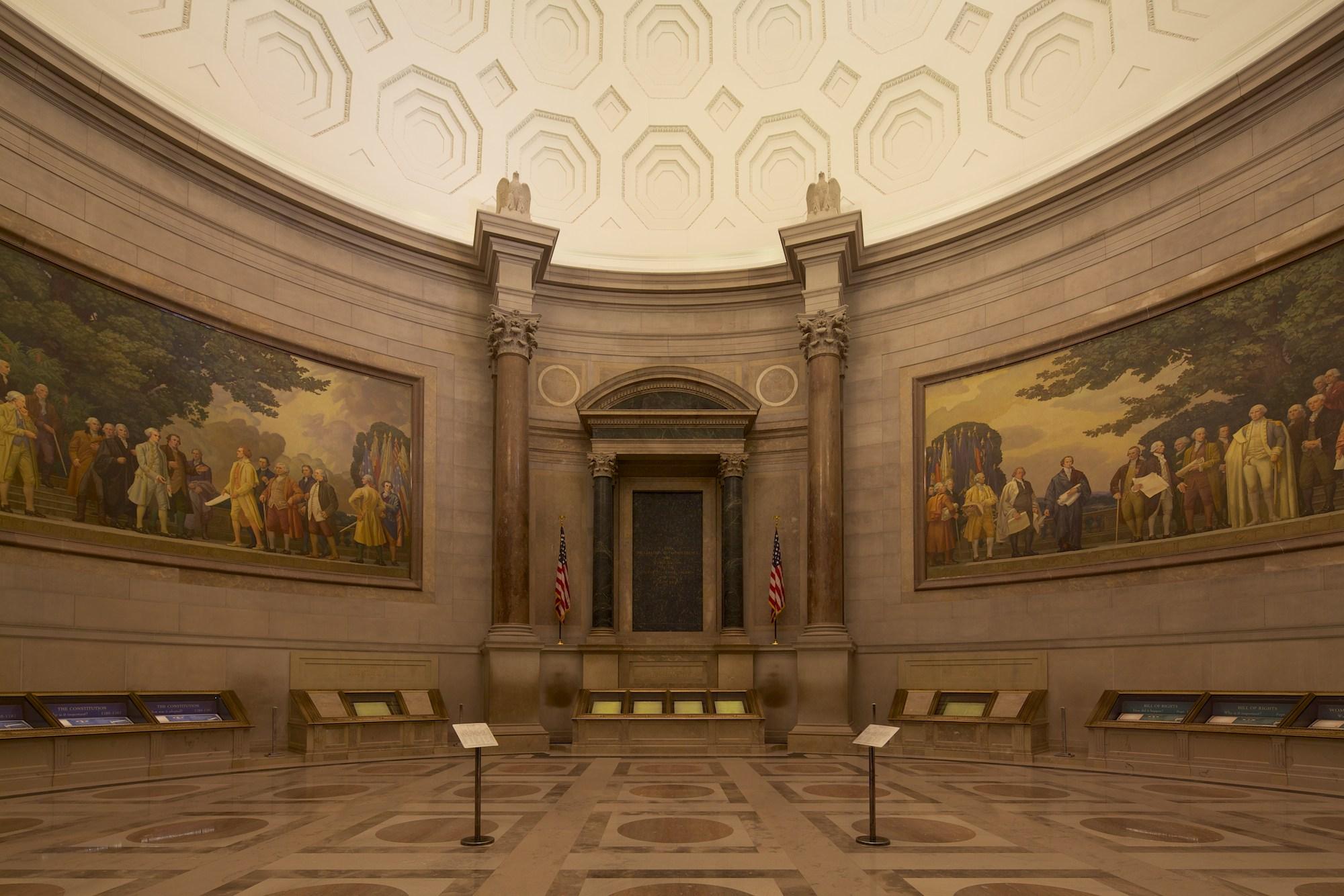 National Archives Rotunda